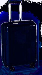 Volumen berechnen Koffer Trolley