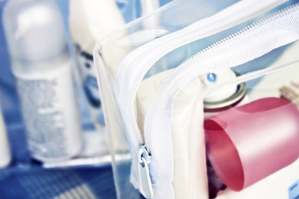 Transportbeutel für Flüssigkeiten im Handgepäck