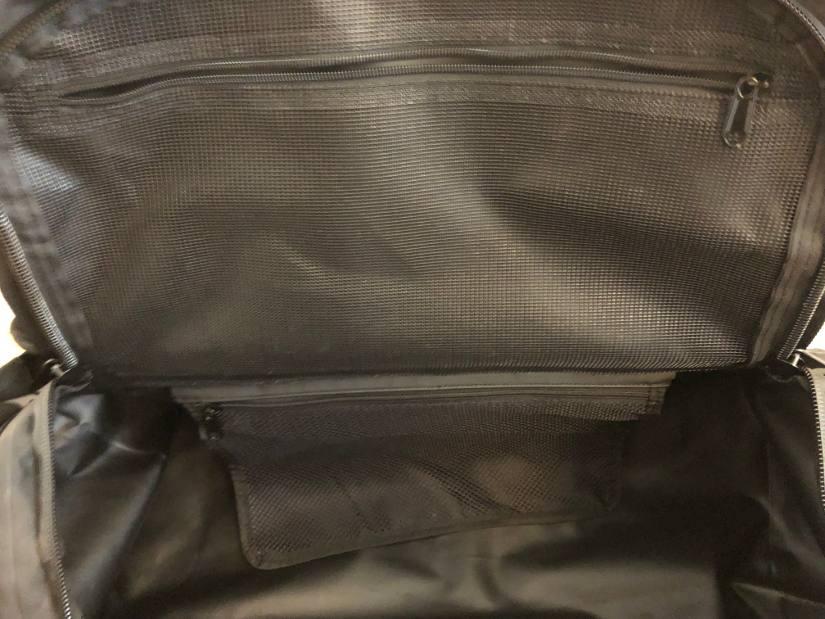 Separate Netzfächer Outdoor Reisetasche